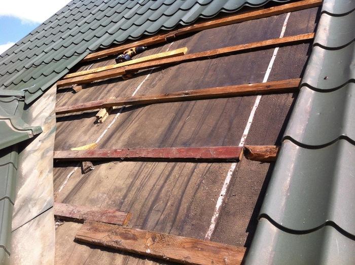 Неправильно выполненная крыша