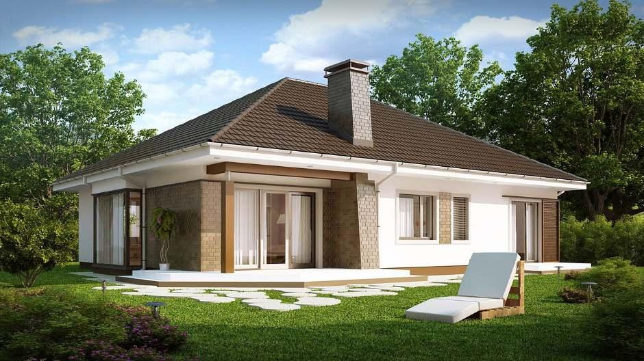 Дизайн и одноэтажных домов
